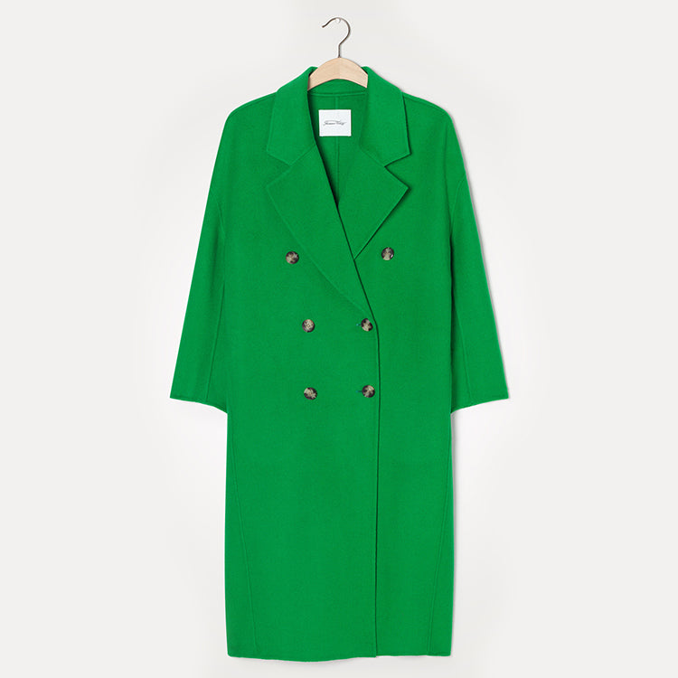 American Vintage Frog Green Dadoulove Coat