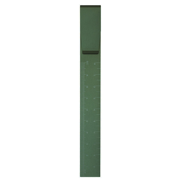 High Tide Clip Ruler in Green