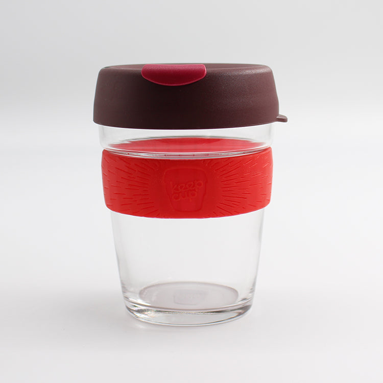KeepCup Brew Glass Kangaroo Paw Reusable 12oz / 340ml Cup