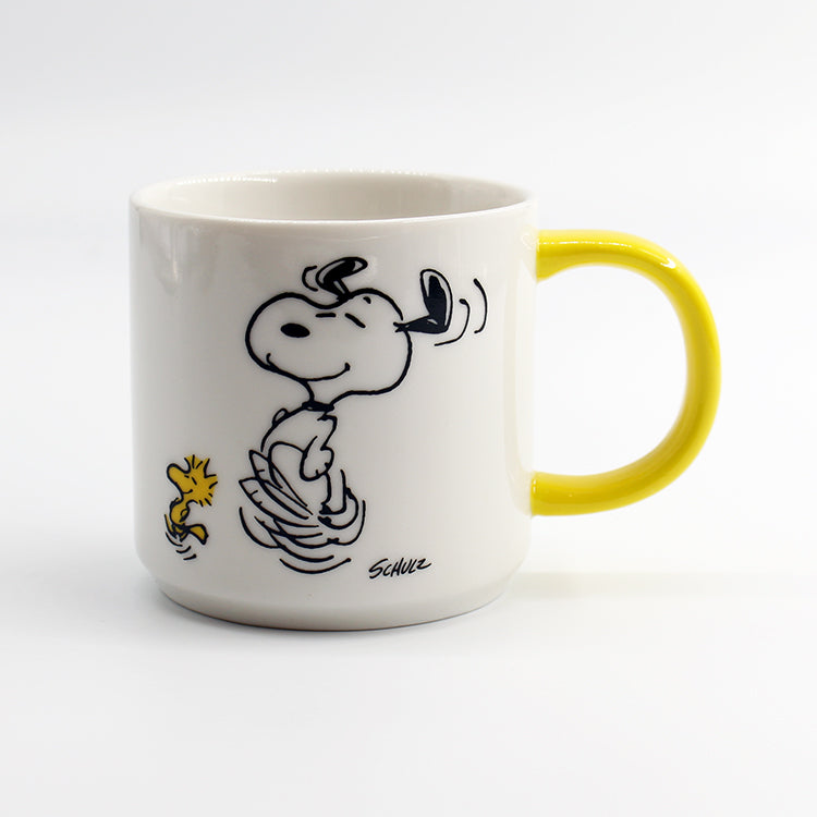 Magpie To Dance Is To Live Peanuts Mug