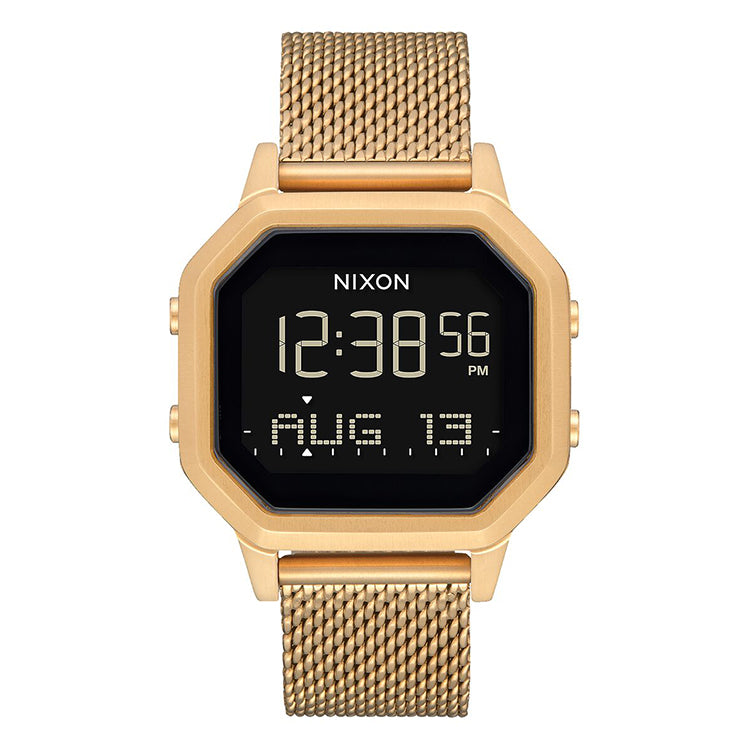 Nixon Siren Milanese All Gold Watch