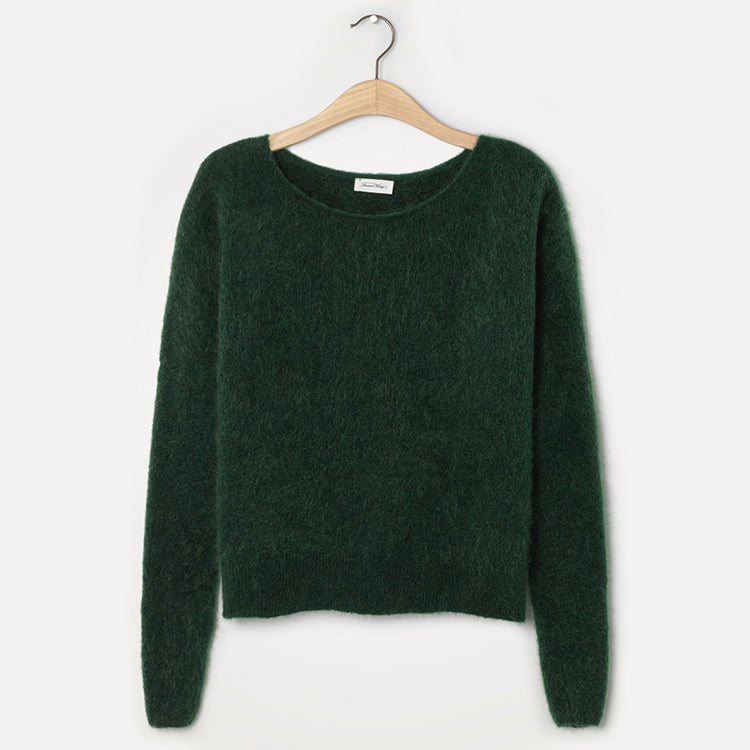 American Vintage Fir Tree Green Zabidoo Jumper