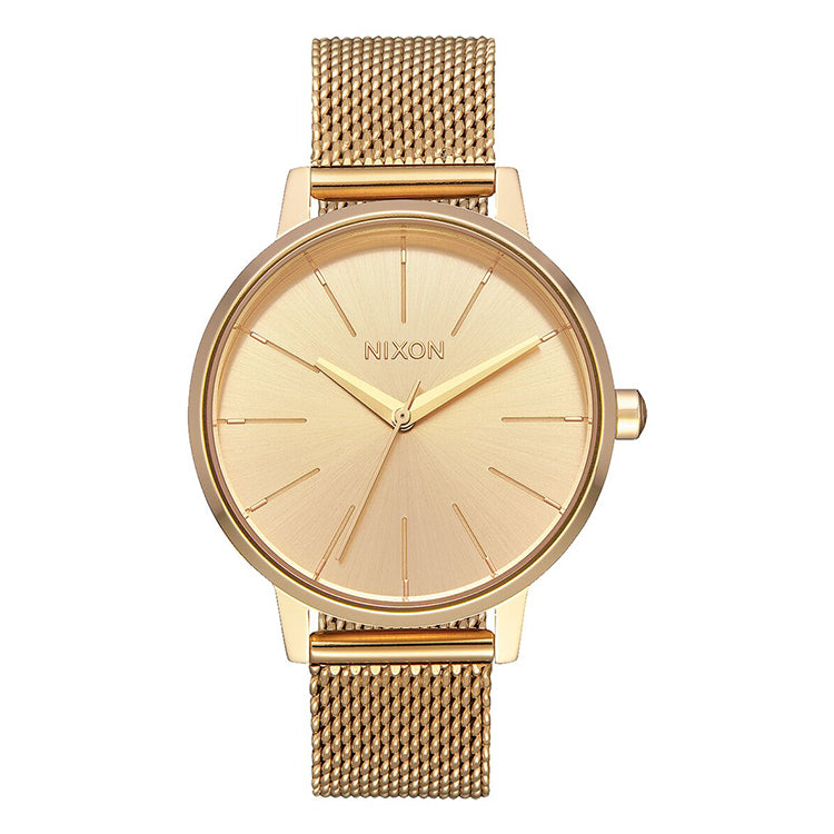 Nixon Kensington Milanese All Gold Watch