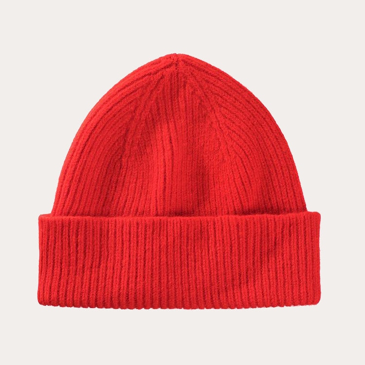 Le Bonnet Crimson Red Beanie Hat