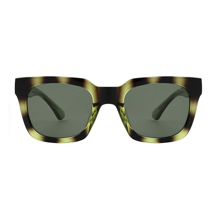A.Kjærbede Demi Olive Nancy Sunglasses - front