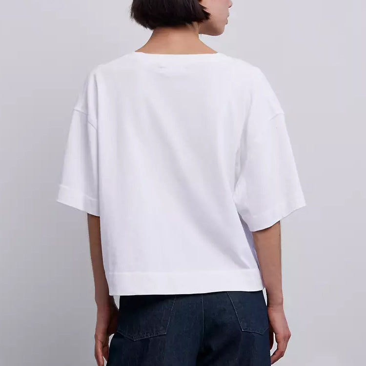 Levi's Made & Crafted Bright White Boxy Thermal Tee