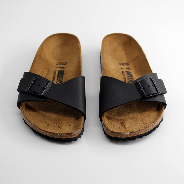 Birkenstock Madrid Black Sandals