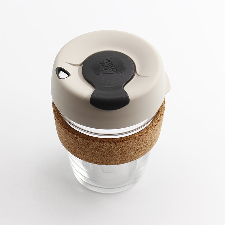 KeepCup Brew Cork Filter White 12oz / 340ml Cup