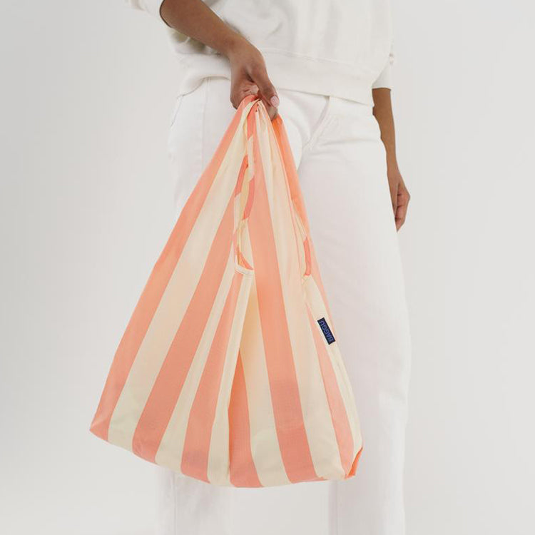 Baggu Washed Brick Stripe Reusable Bag