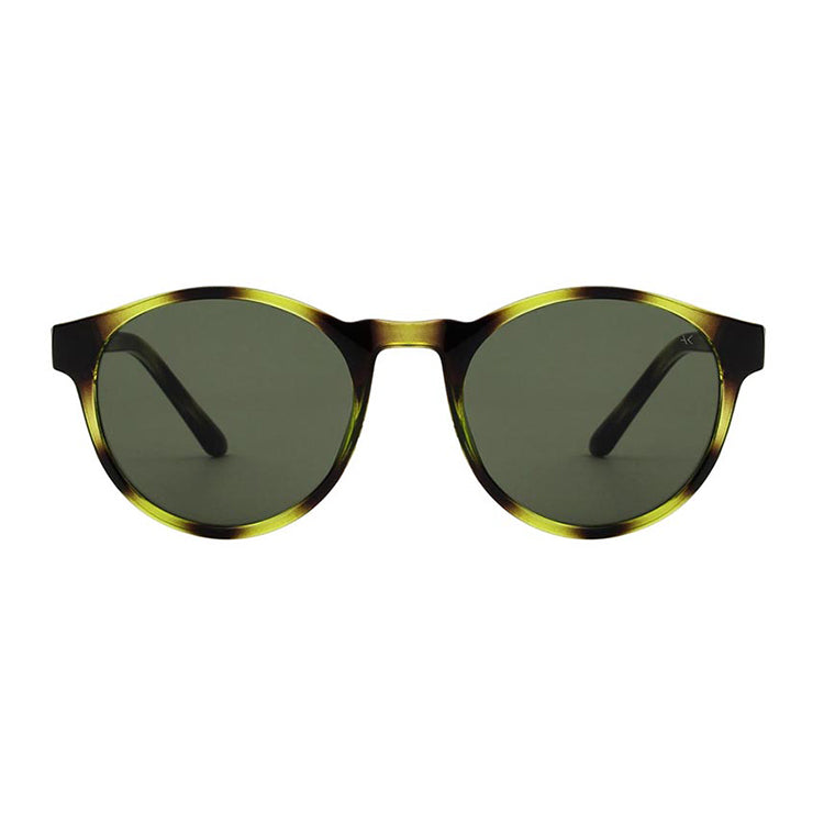 A.Kjærbede Demi Olive Marvin Sunglasses - front view