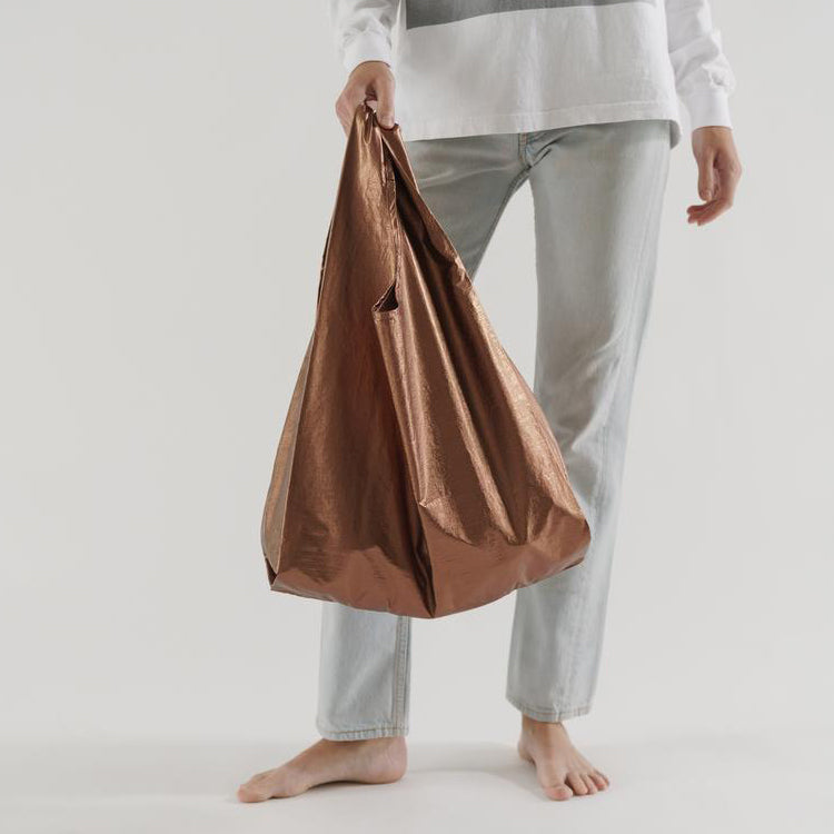 Baggu Copper Metallic Standard Reusable Bag
