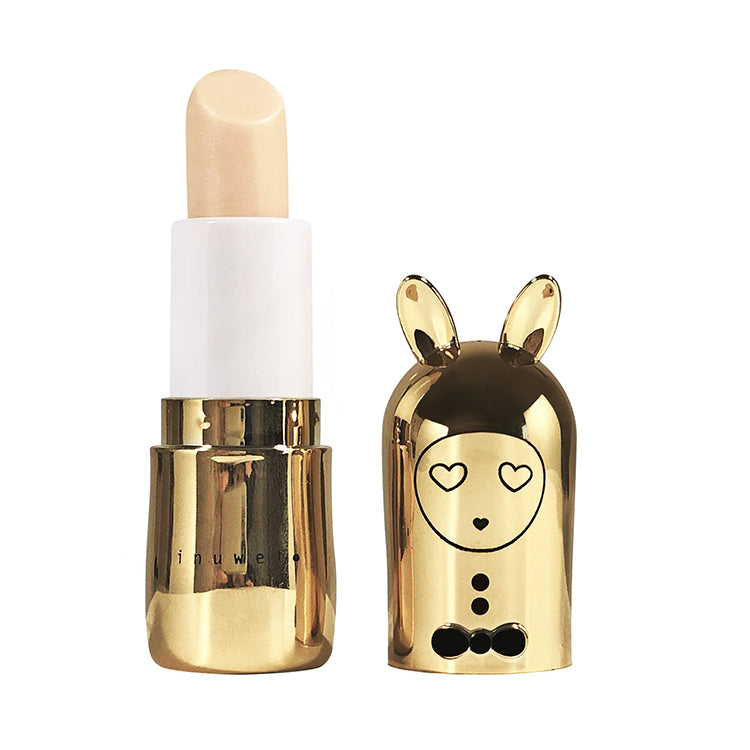 INUWET Gold Metal Edition Bunny Lip Balm