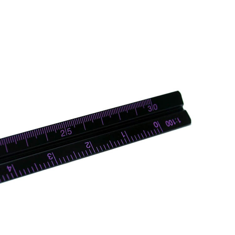 Penco Hightide Black Drafting Scale Ruler