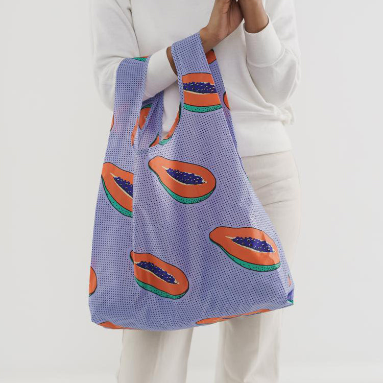 Baggu Blue Papaya Reusable Bag