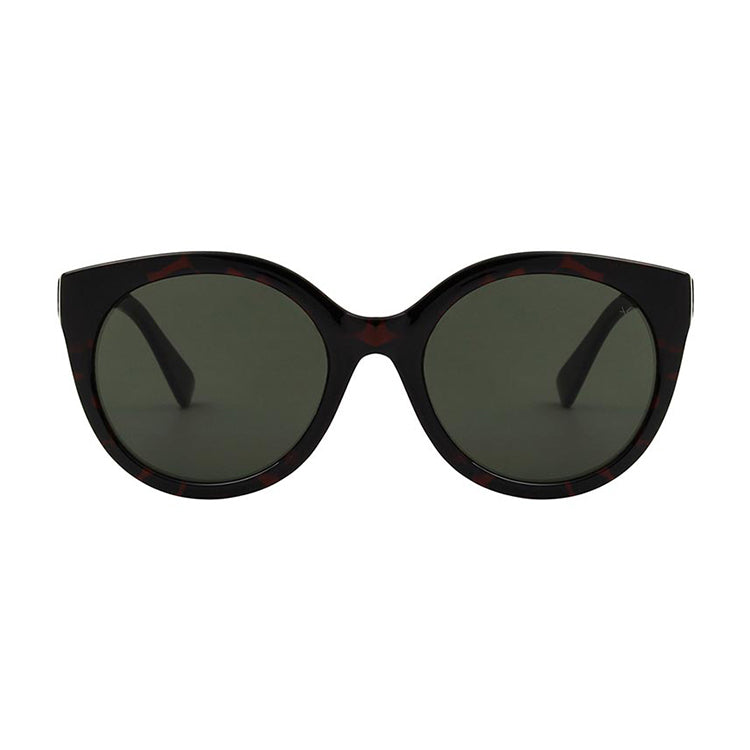 A.Kjærbede Tortoise Butterfly Sunglasses - front