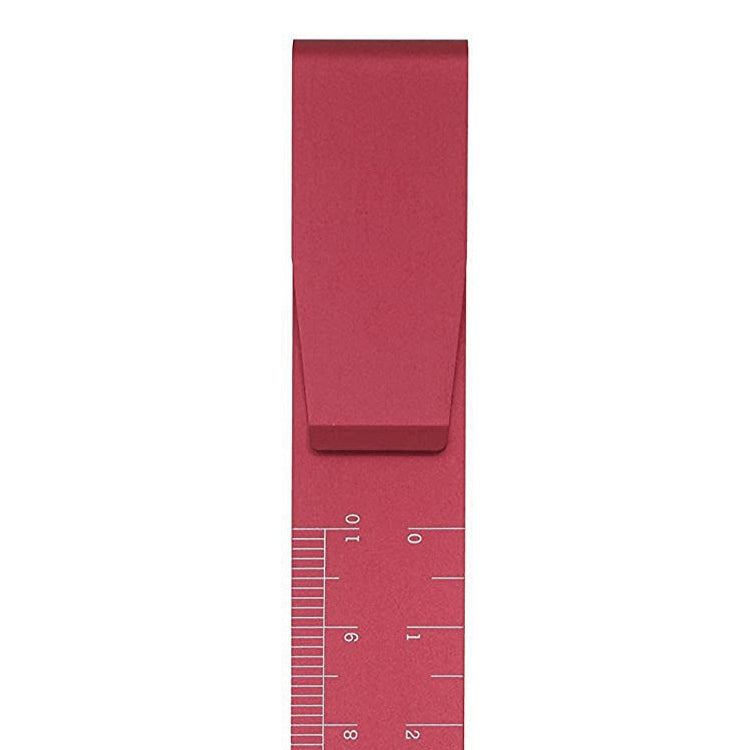 High Tide Clip Ruler in Dusty Pink