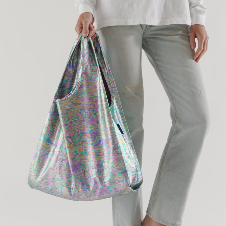 Baggu Rainbow Metallic Standard Reusable Bag