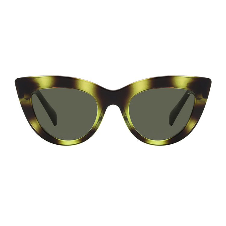 A.Kjærbede Demi Olive Stella Sunglasses - front view