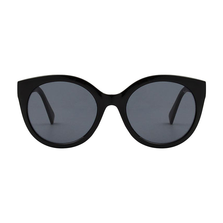 A.Kjærbede Black Butterfly Sunglasses - front