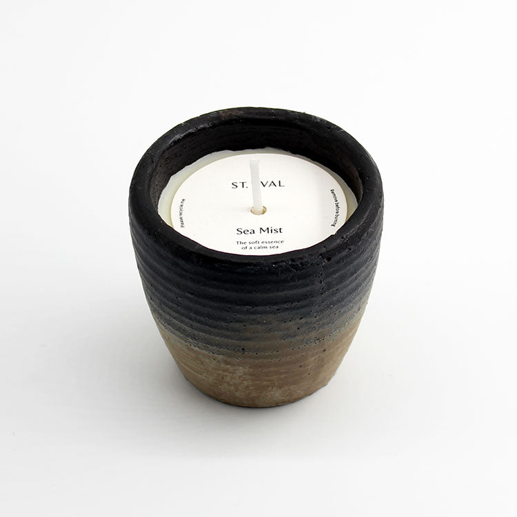 St. Eval Small Potted Coastal Sea Mist Scented Candle