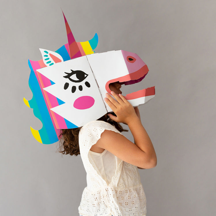 OMY 3D Lily Cardboard Mask