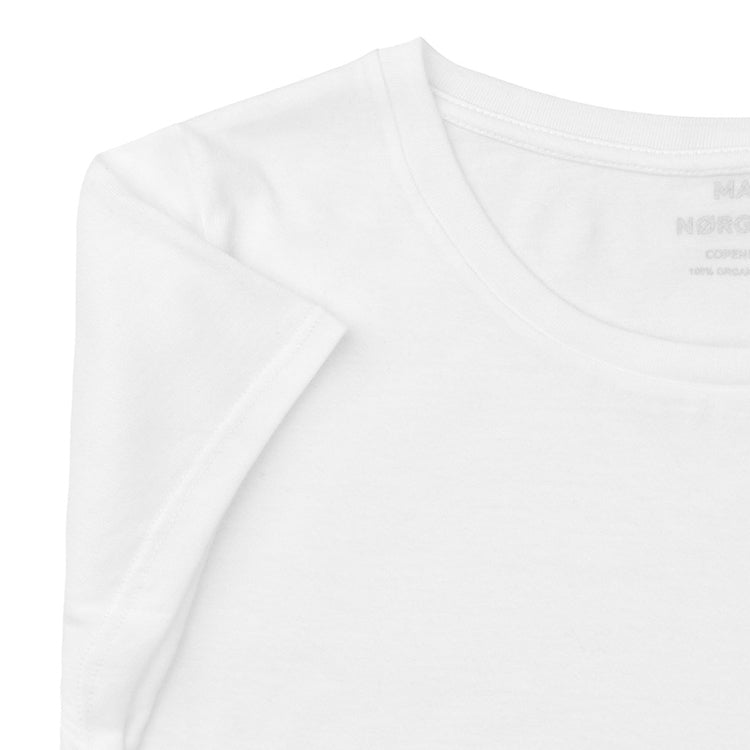Mads Nørgaard Favourite Teasy White Organic T-Shirt