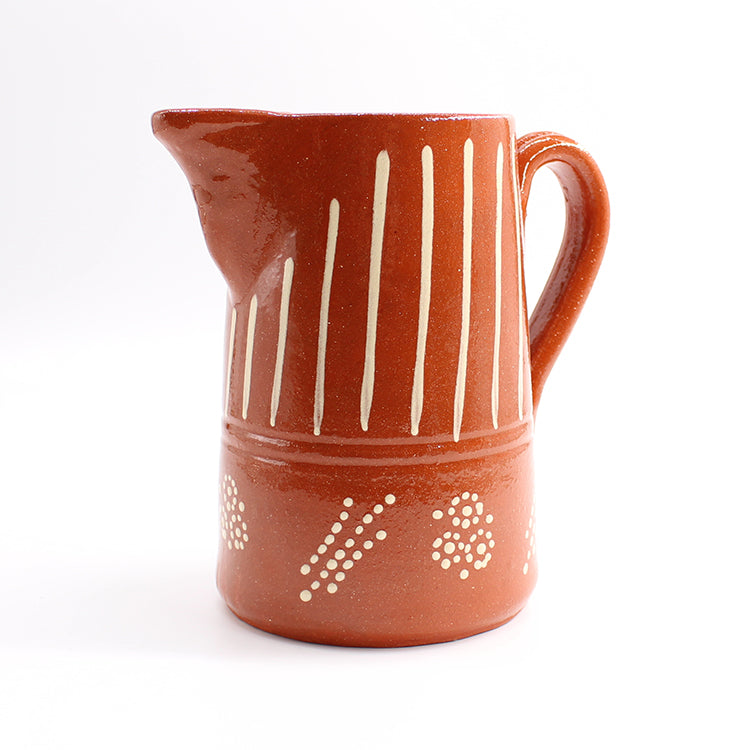 Van Verre Medium Terracotta Pitcher Jug