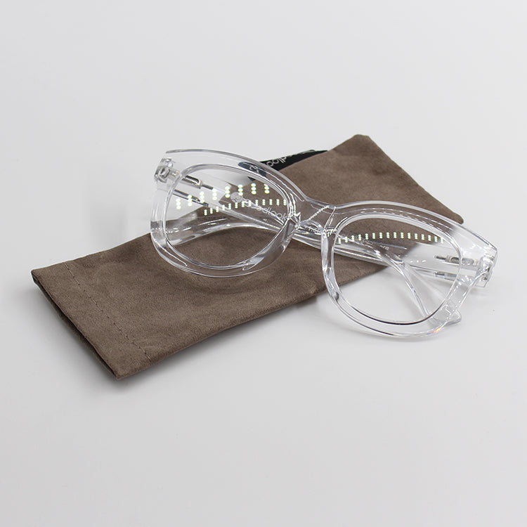 Encore White Transparent Reading Glasses