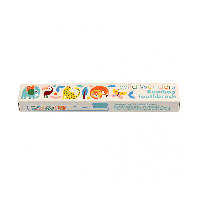 Rex London Wild Wonders Bamboo Toothbrush