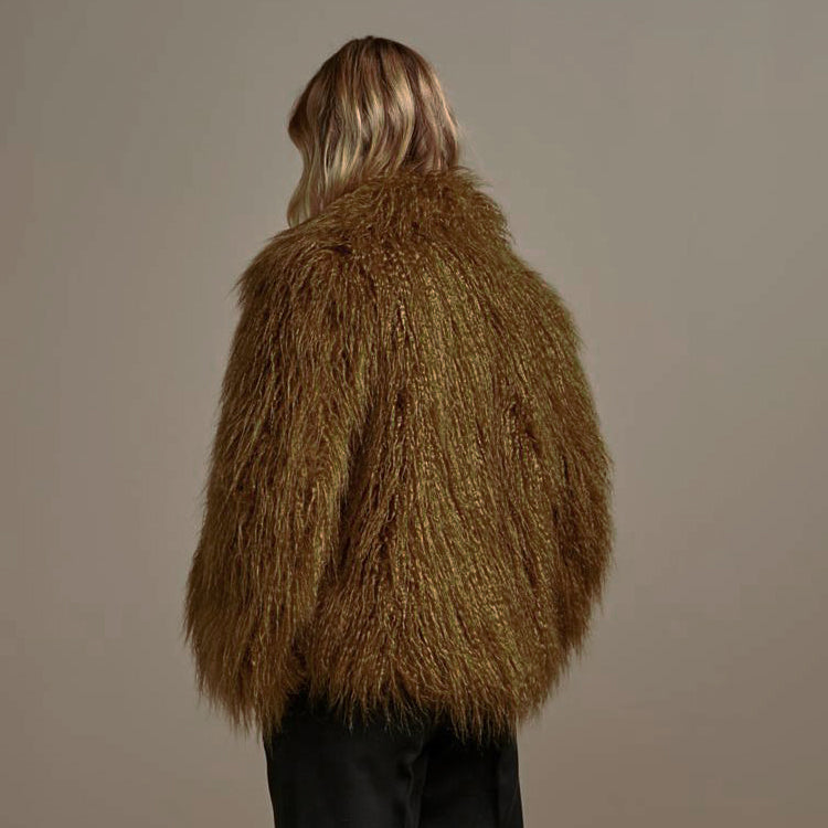 Bellerose Faux Fur Breen Hoffman Jacket