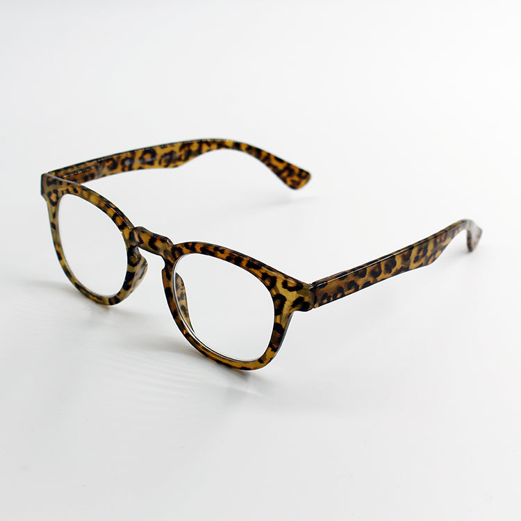 Kitty Brown Leopard Reading Glasses