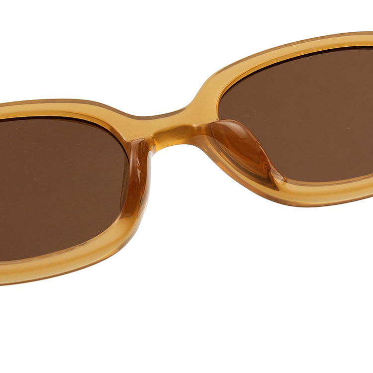 A.Kjærbede Light Brown Transparent Bob Sunglasses