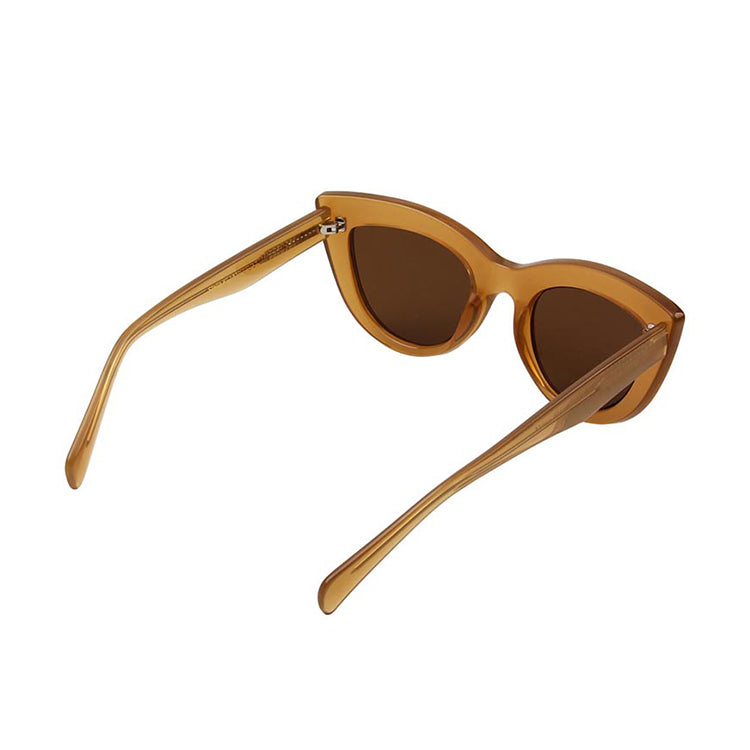 A.Kjærbede Light Brown Transparent Stella Sunglasses