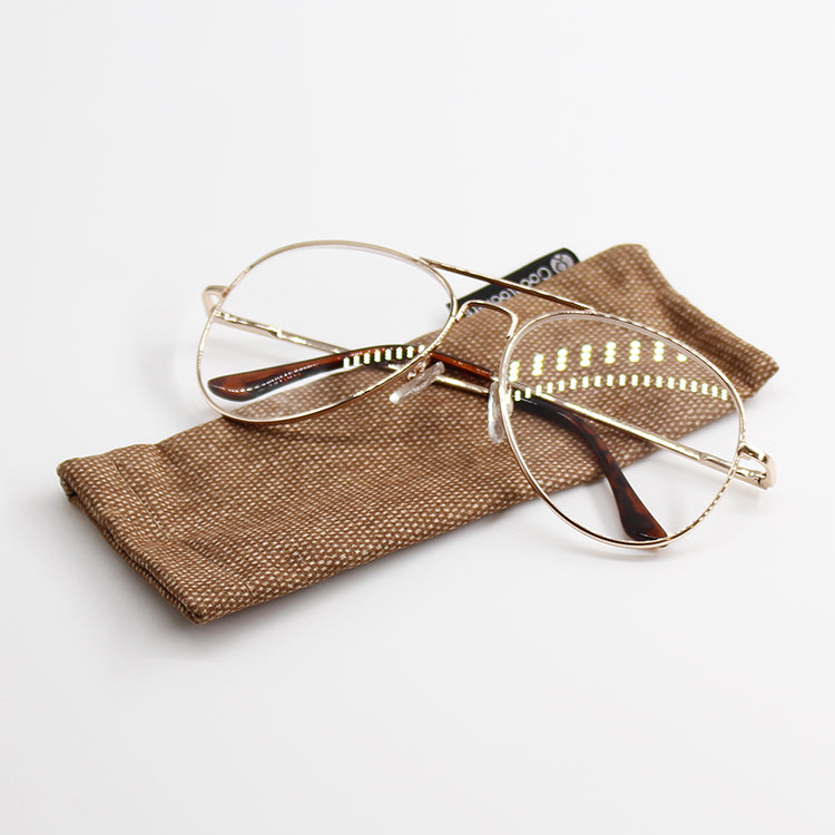 Ace Gold Reading Glasses