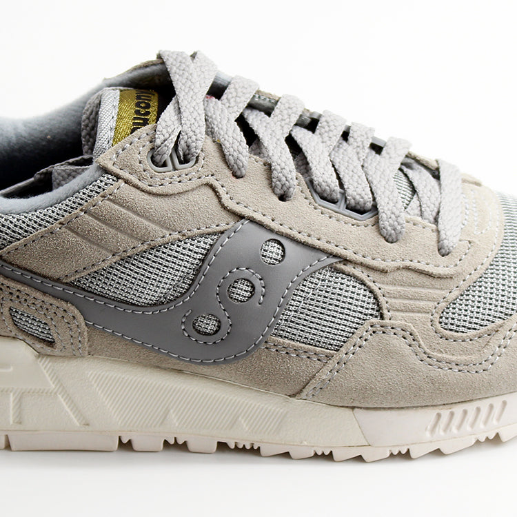 Saucony Shadow 5000 Grey Cream Trainers