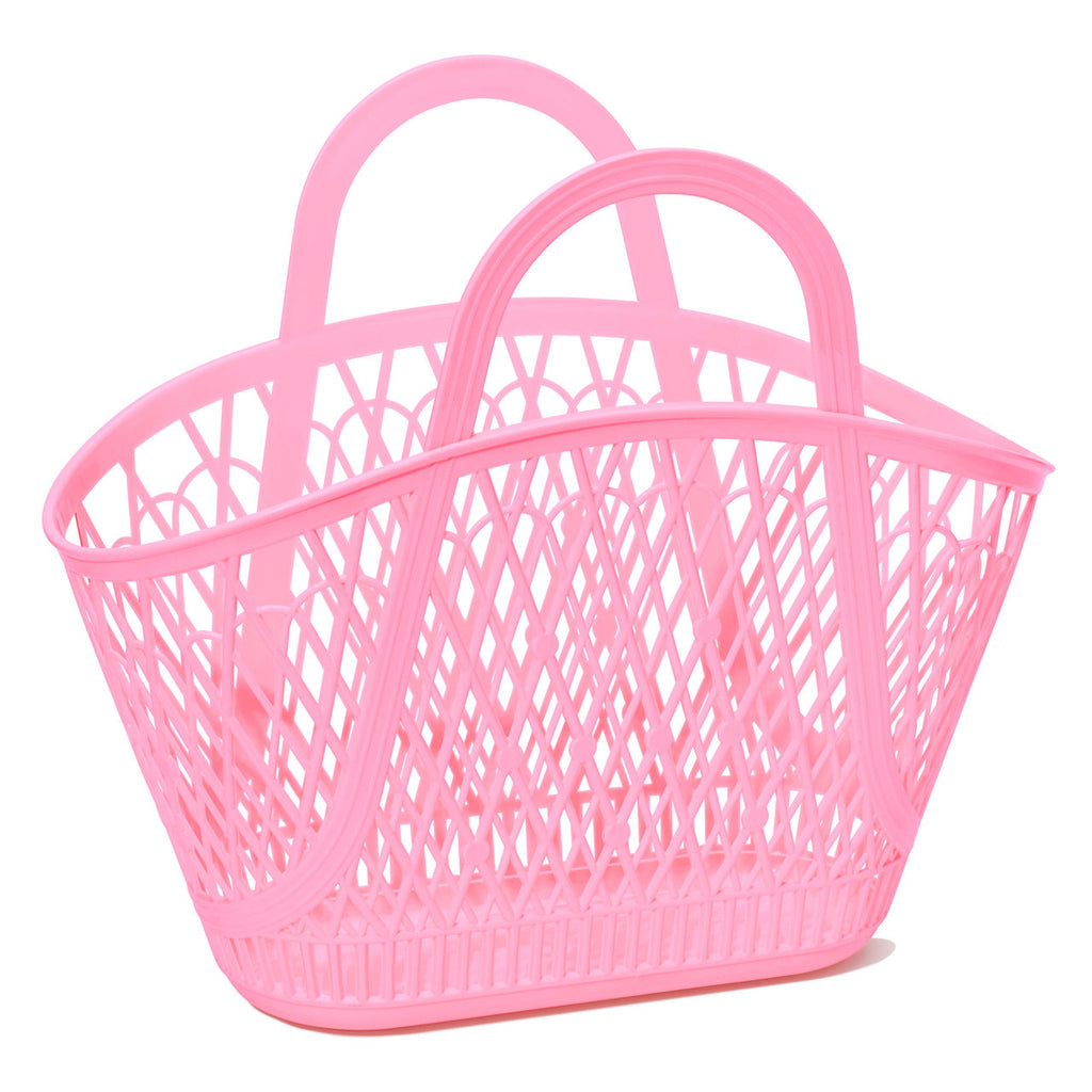 Sun Jellies Pink Betty Basket