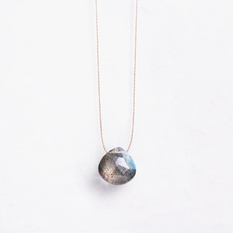 Wanderlust Life | Grey Labradorite Necklace