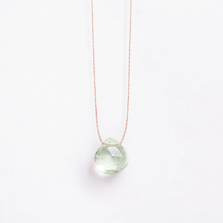 Wanderlust Life | Mint Amethyst Necklace