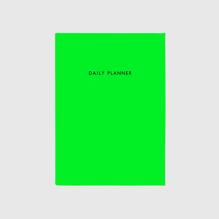 Ohh Deer Neon Green Daily Planner