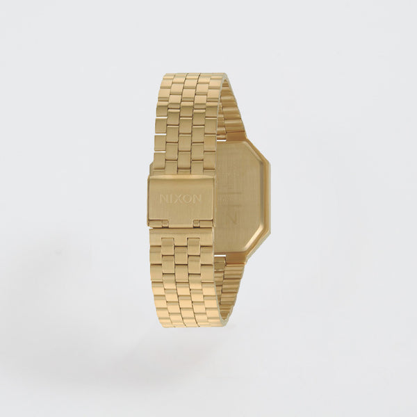 Nixon Re-Run All Gold Watch