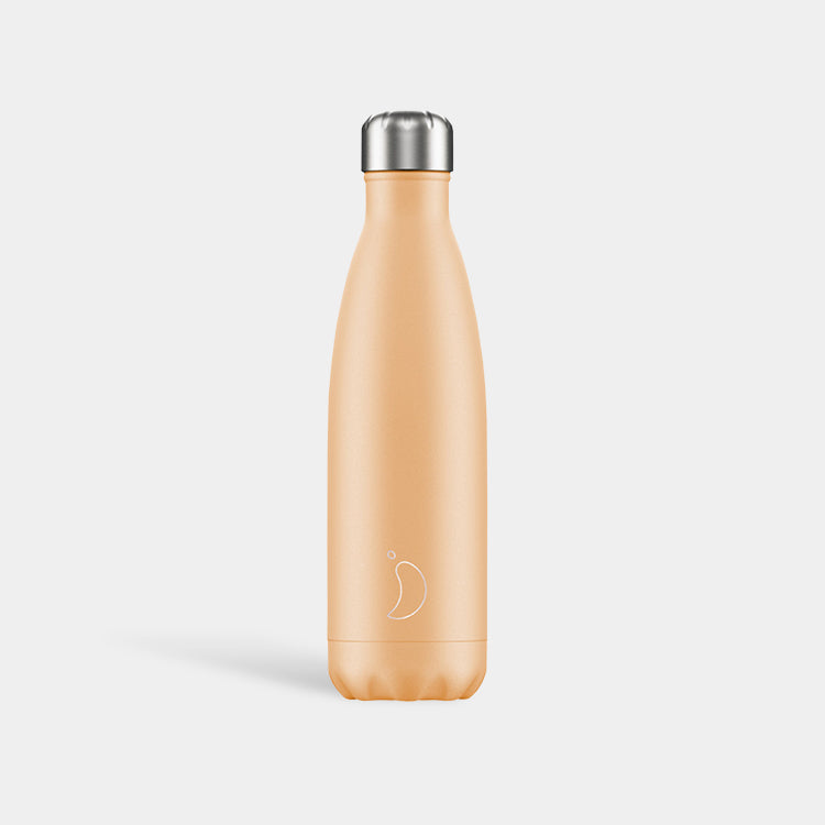 Chilly's Pastel Orange Drinking Bottle 500ml