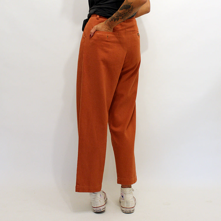 L.F Markey Brick Red Classic Slacks