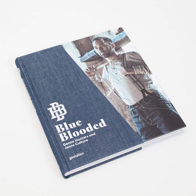 Product shot of Blue Blooded: Denim Hunters and Jeans Culture Book