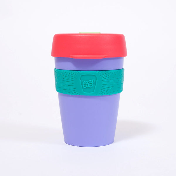 KeepCup Reusable Travel Cup 340ml | Purple Watermelon