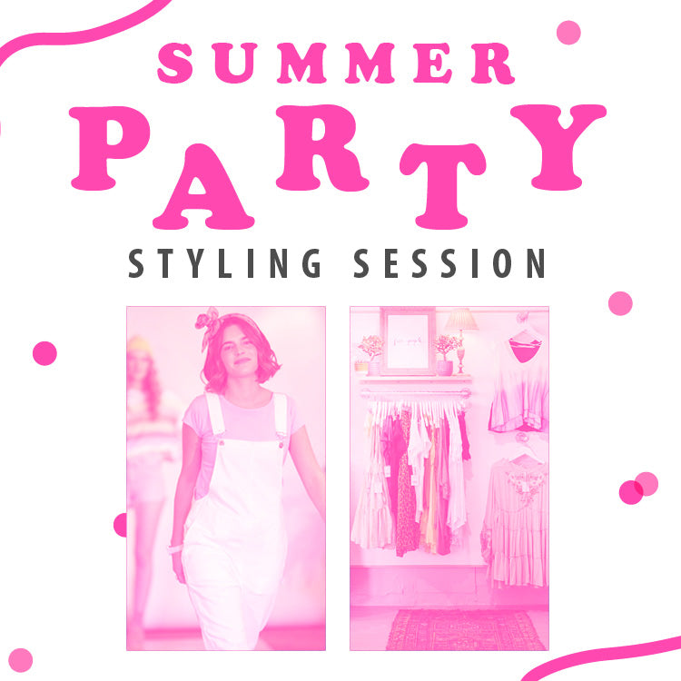 Summer Party Styling Session