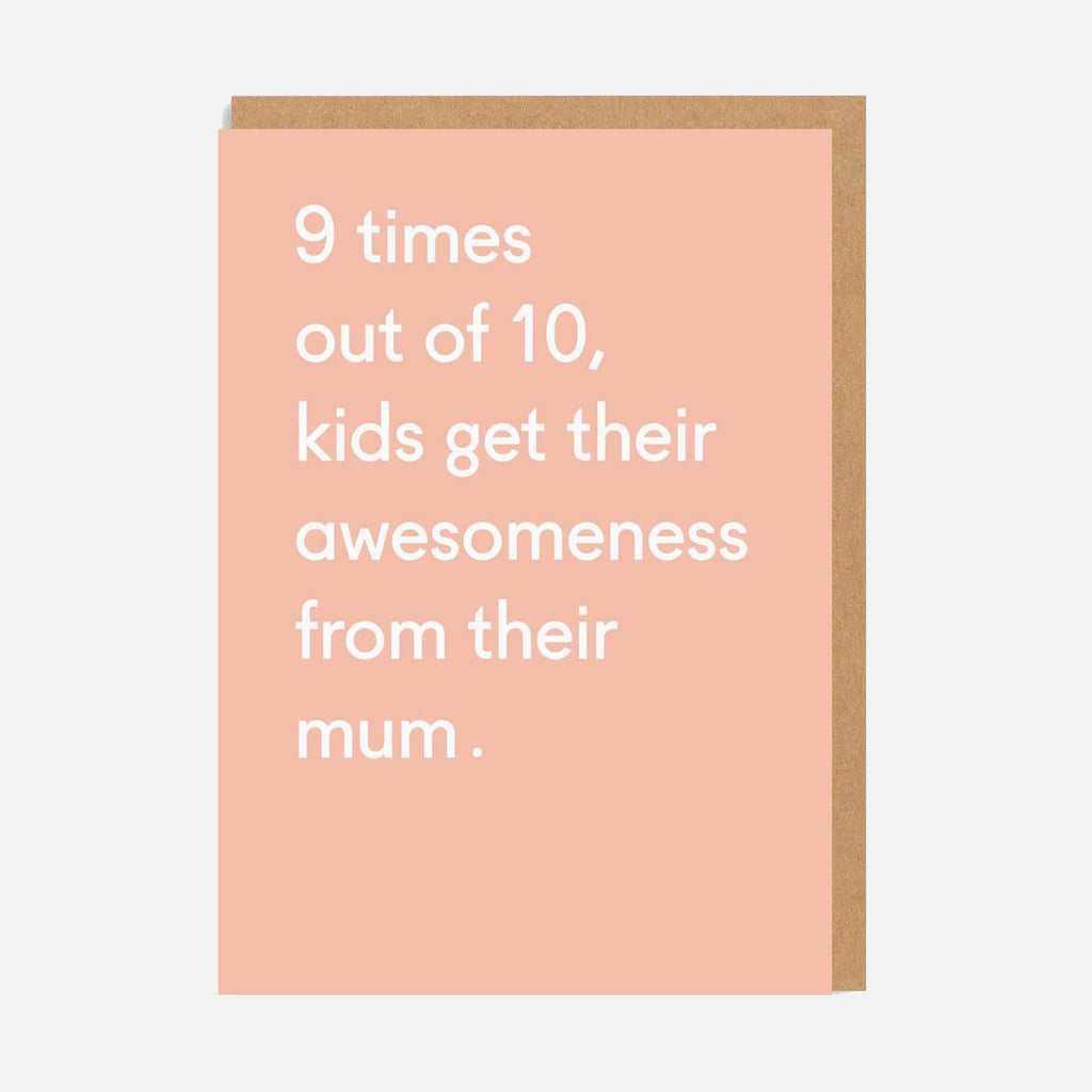 Ohh Deer Awesomeness From Mum Greetings Card