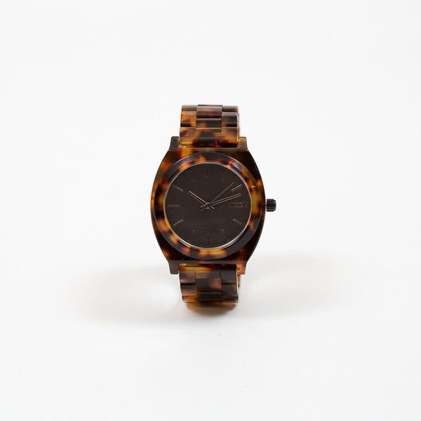 Nixon Tortoise Acetate Time Teller Watch uk