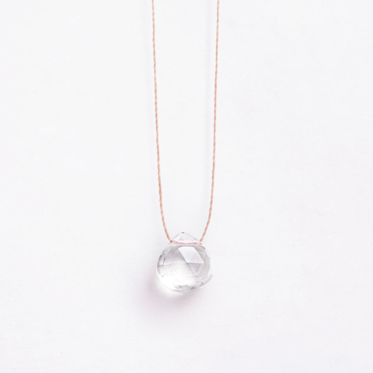 Buy online UK: Wanderlust Life Necklace | Clear Quartz