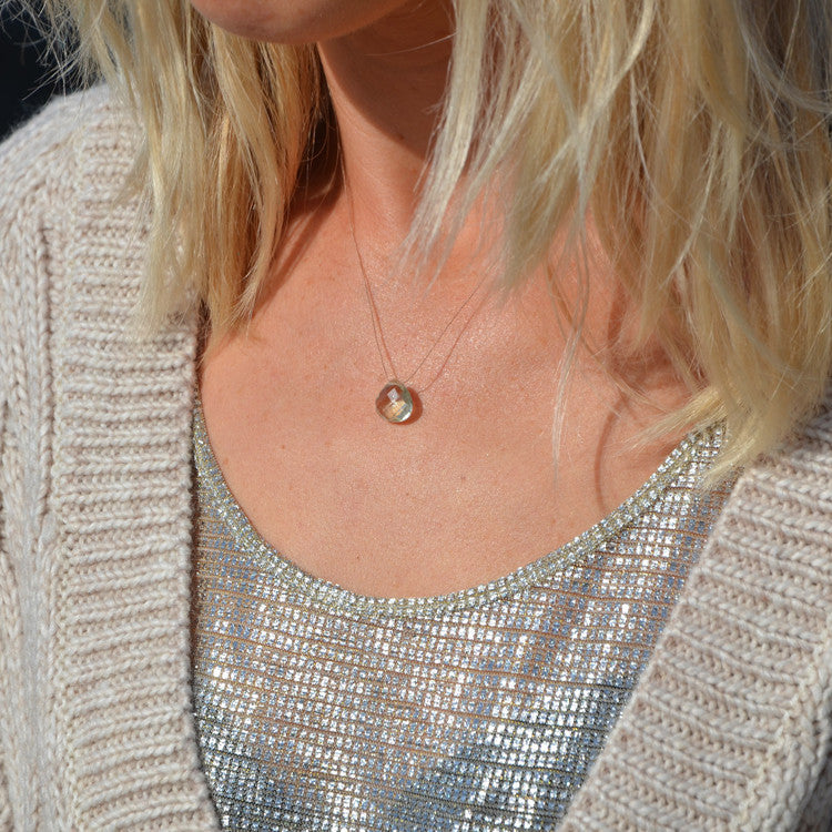 Roo's Beach | Wanderlust Life Mint Amethyst Necklace