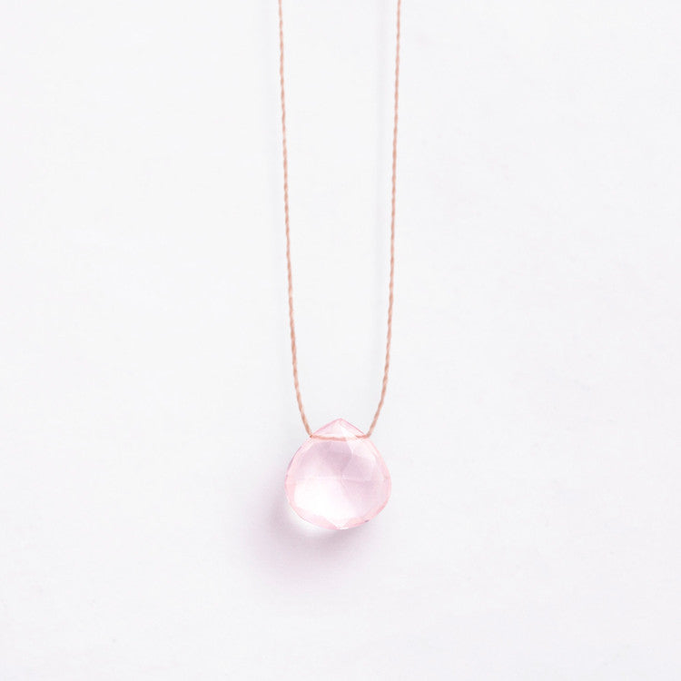 Wanderlust Life Rose Quartz Necklace – Buy online and in store